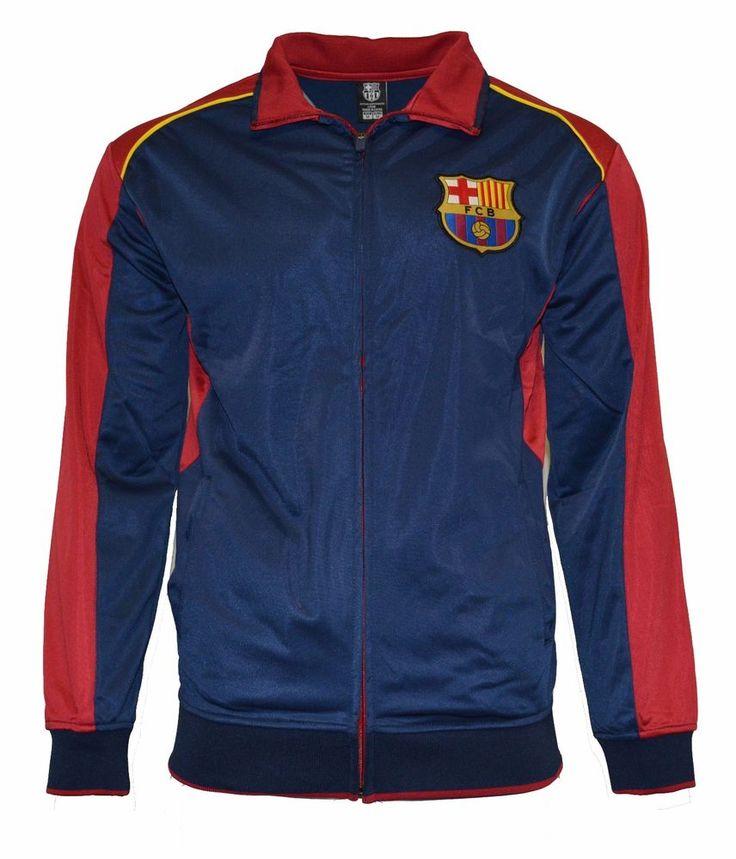 Fc Barcelona Jacket Track Soccer Adult Sizes Soccer XL #Rhinox #FCBarcelona