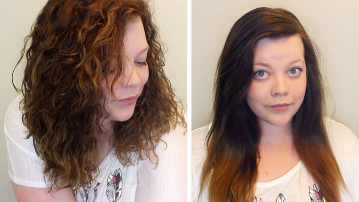 Best 25+ Short Permed Hair Before And After Ideas On