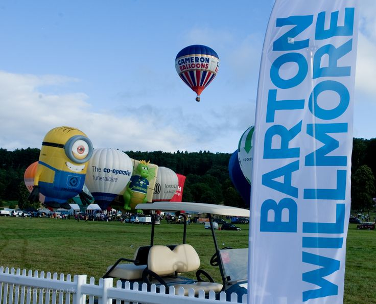 Barton Willmore Bristol International Balloon Fiesta 2013. Photo by Jon Craig.