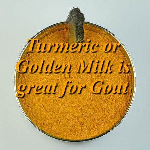 Turmeric is great for gout relief