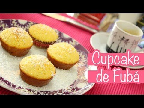 Cupcake de Fubá – DELÍCIA | Eu Capricho