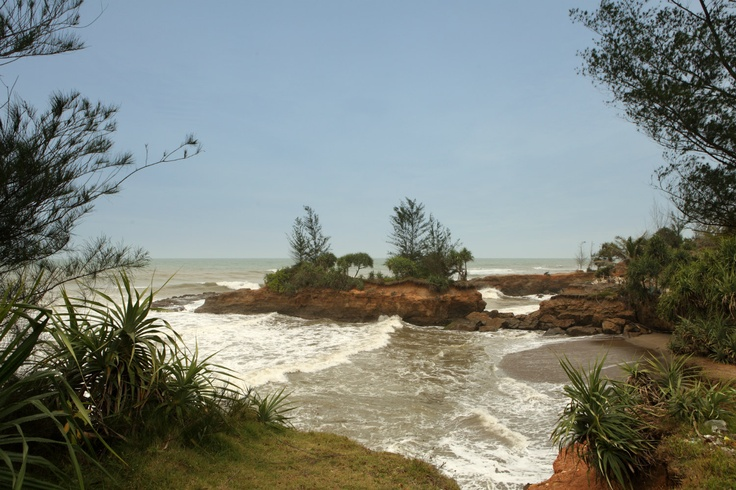 Hidden paradise at Bengkulu.