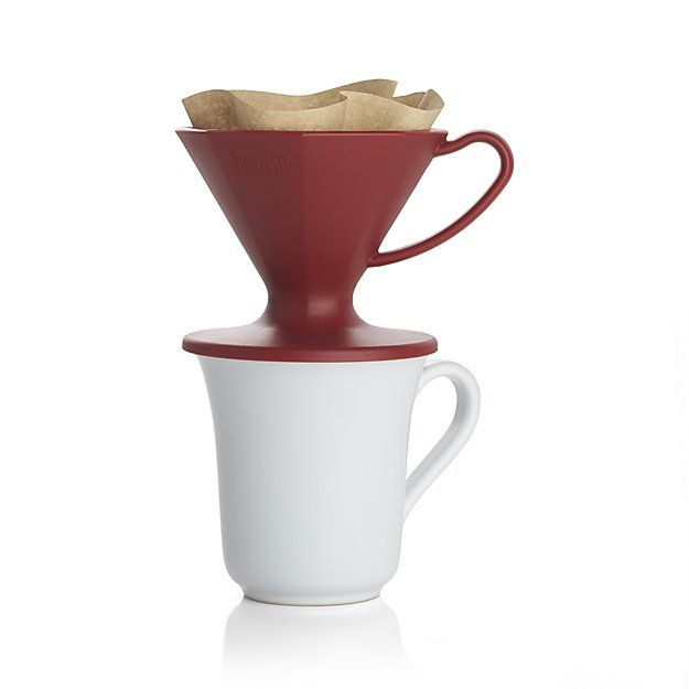 Pour Over Coffee Maker Crate And Barrel : 1000+ ideas about Red Coffee Maker on Pinterest Le creuset, Le creuset colors and Coffee