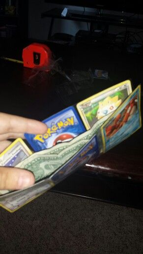 Easy DIY pokemon wallet!