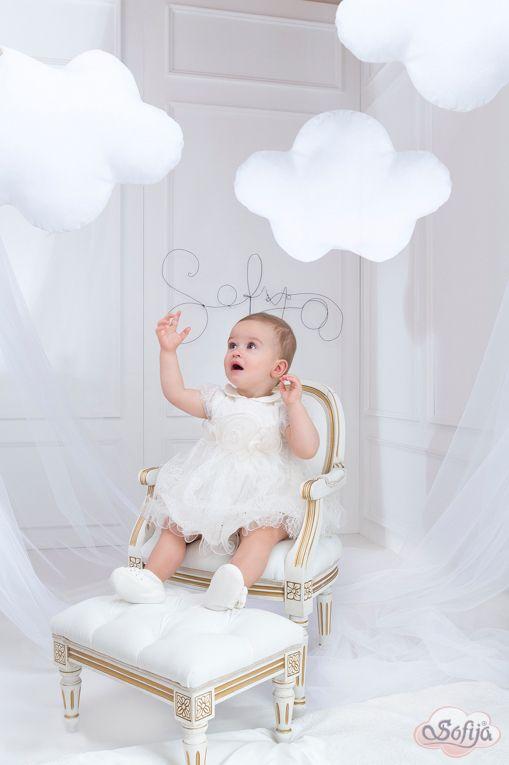 Koronkowa sukienka na chrzest i inne uroczystości   www.sofija.com.pl  #sofija #ubranka #bawełna #dziecko #chrzest #moda #kidsfashion #baby #kindermode #cotton #sweet #cute #ребенок