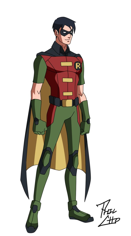 Robin: Dick Grayson by ~qBATMANp on deviantART.