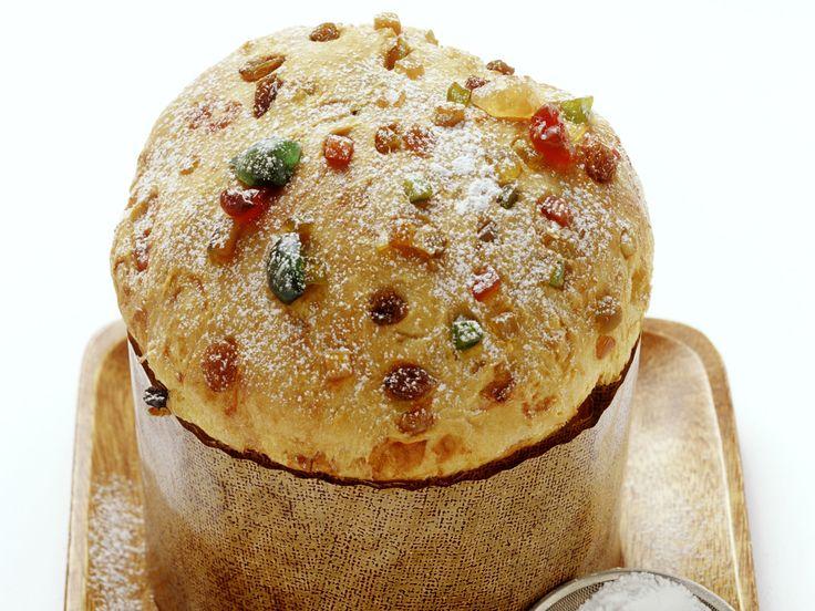 Italienischer Weihnachtskuchen (Panettone) | Zeit: 20 Min. | http://eatsmarter.de/rezepte/italienischer-weihnachtskuchen-panettone