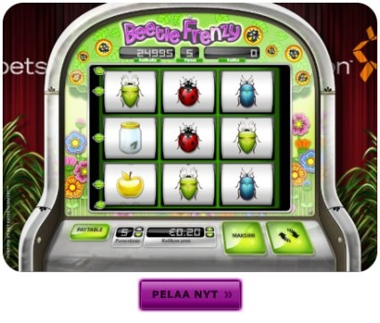 The Beetle Frenzy slot game