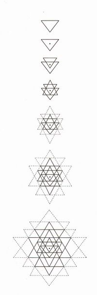 How to draw Sri Yantra #tantra #sacredgeometry #mandala                                                                                                                                                     More