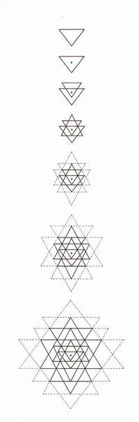 How to draw Sri Yantra #tantra #sacredgeometry #mandala                                                                                                                                                     More