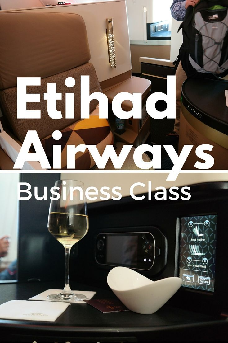 A look at our experience in the luxurious Business Class on Etihad Airways, from London to Abu Dhabi, UAE.: