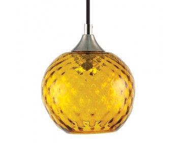 Lampada turchese a sospensione - small ball