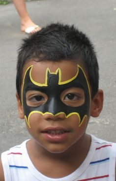 superheroes face painting - Google Search