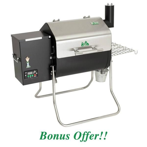 Green Mountain Grills Davy Crockett Tailgater Pellet Grill Bonus Package If you are looking for a great tailgating pellet grill, look no further! The Green Mountain Grills Davy Crockett WiFi Controlle