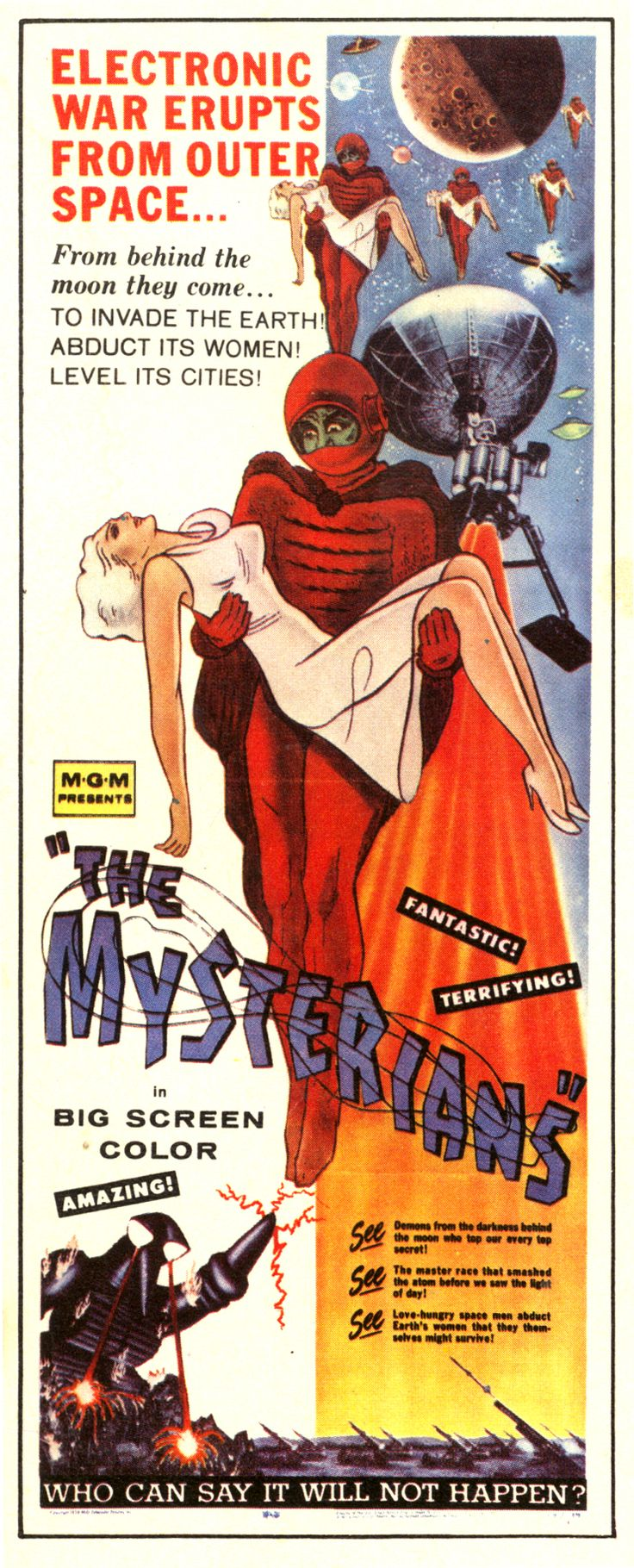 The Mysterians - From Behind the Moon They Come...To Invade the Earth! Abduct Its Women! Level Its Cities!