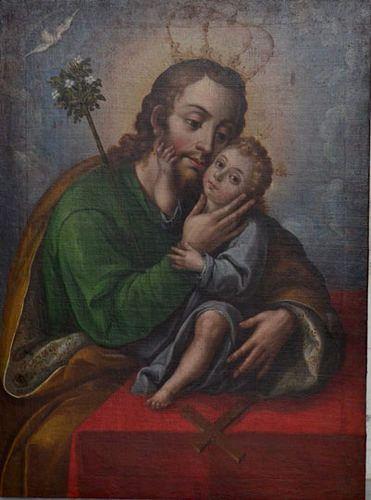 San José de los Auxilios, Museo de Arte Religioso del Exconvento de Sta. Mónica, Cdad. de Puebla, Pue. | Flickr - Photo Sharing!