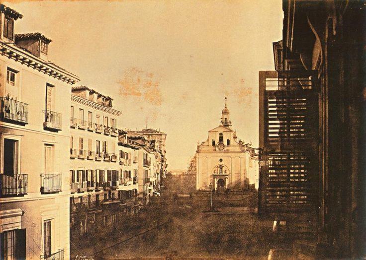 Puerta del Sol. 1853