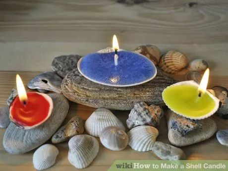 Image titled Make a Shell Candle Step 5