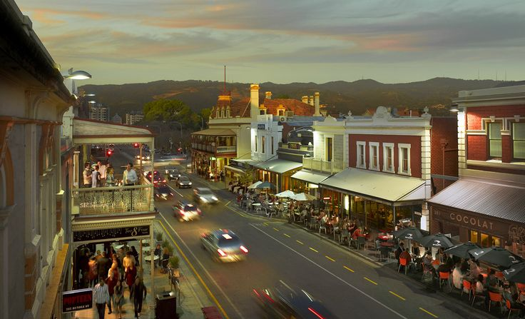 Rundle Street, Adelaide - the cool & eclectic heart of Australia's Festival City.