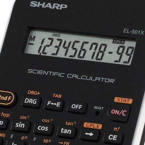 Sharp EL-501X-WH 131 funkciós tudományos számológép - Fehér Ft Ár 3,390