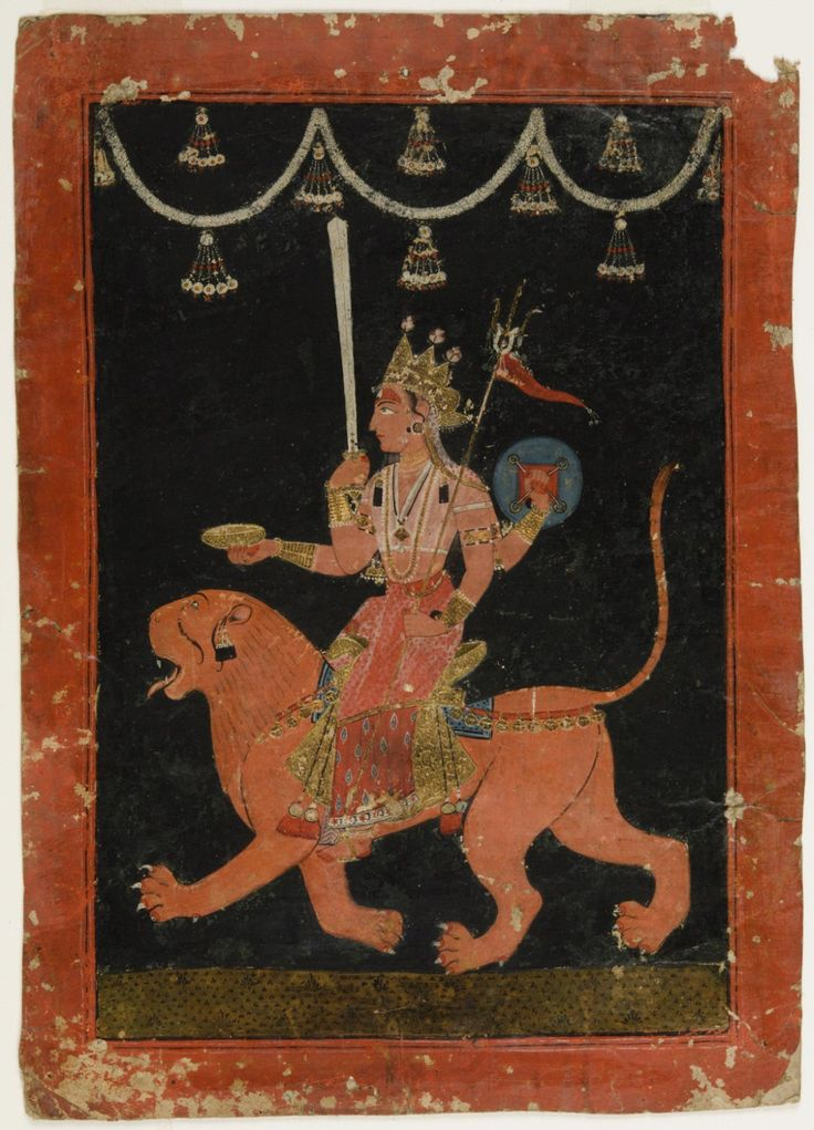 Philadelphia Museum of Art - Collections Object : The Great Goddess Durga Riding Her Lion