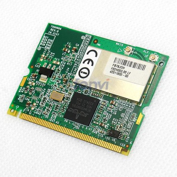 Broadcom BCM4318 Wireless Wlan network adapter For HP laptop Wifi Mini PCI Card ABG 54Mbps Ethernet Module