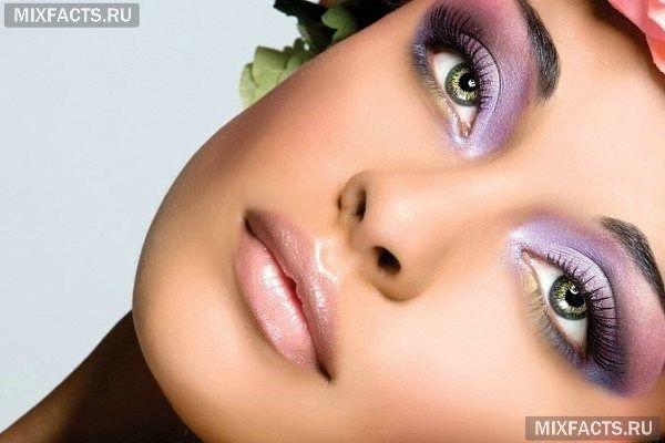 красивые тени для зеленых глаз