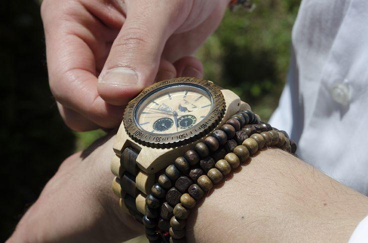 Apogeo orologio in legno - wood watch