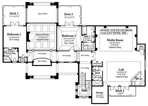 Cordillera Sater Design Collection Floor Plans