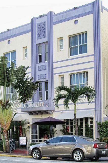 Hotel Shelley  Collins Avenue Miami Beach Fl