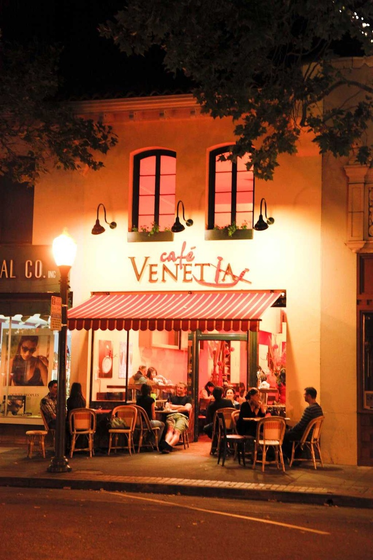 Cafe Venetia Menu Palo Alto