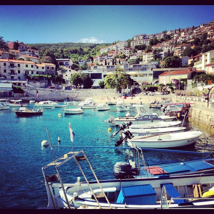 Magical Places In Croatia: 17 Best Images About Rabac On Pinterest