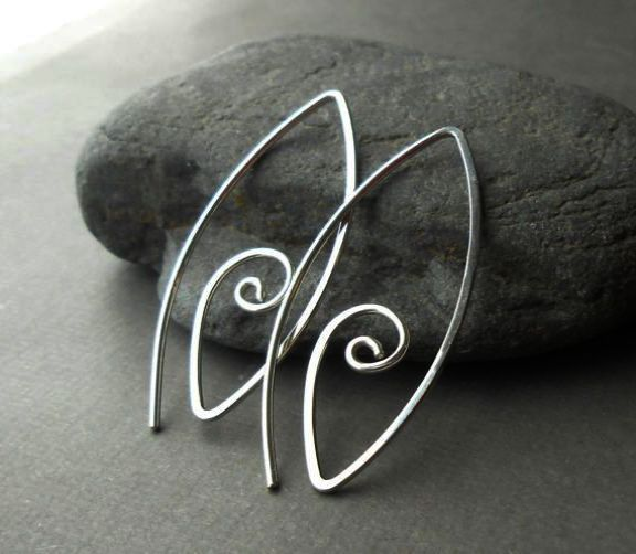 Sterling Silver Earring Sets For