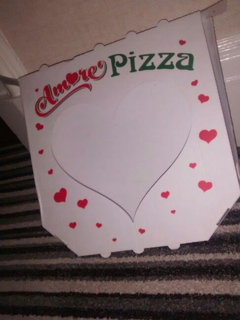 Anyone order a valentines pizza