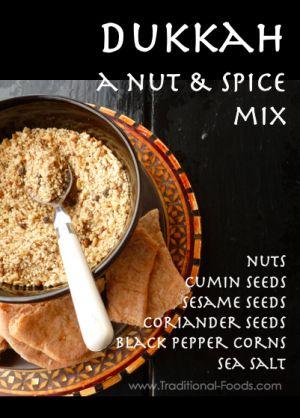 Dukkah, A Nut & Spice Blend