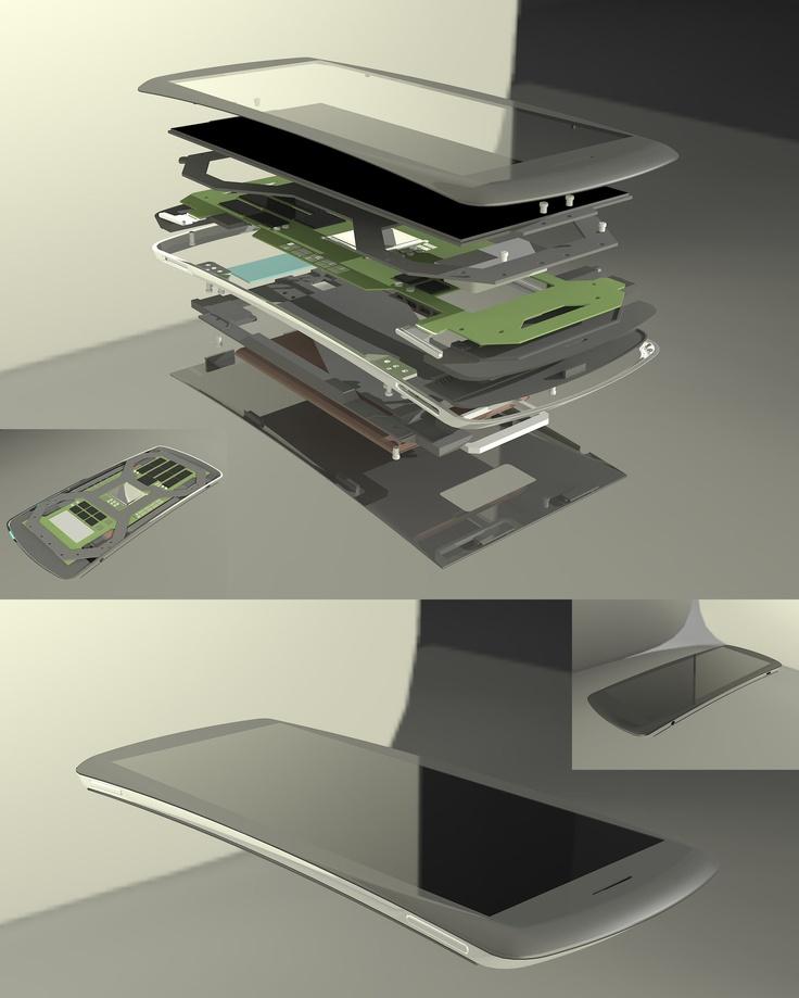 SmartPhone Consept WIP by pangeranberbajuputih.deviantart.com
