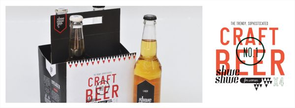 Craft Beer (Shwe Shwe) by Lynn-Marie Cronje, via Behance