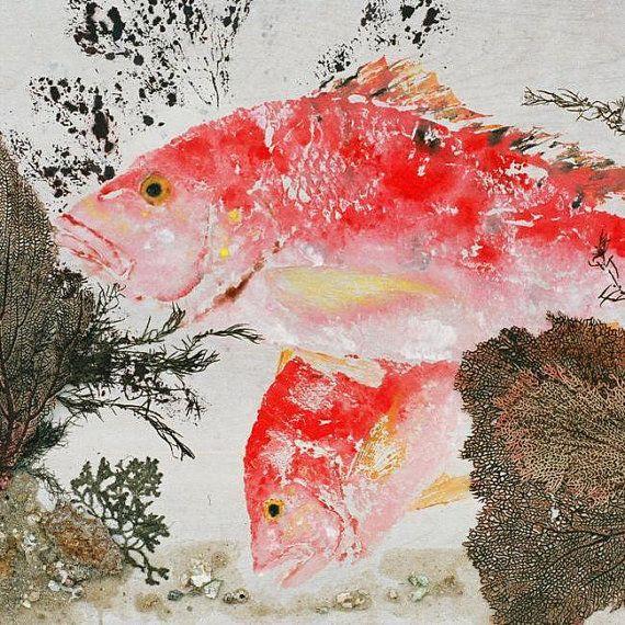 31 Best Gyotaku Images On Pinterest