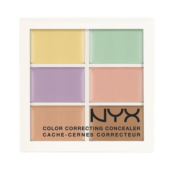 NYX Color Correcting Palette - great palette for hiding splotches, rosacea…