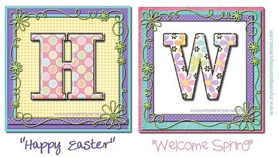 Lots of Spring and easter ideas!!!
