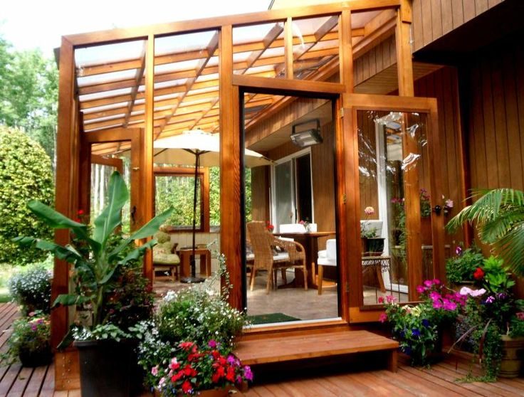 Best 25 plexiglass panels ideas on pinterest clear roof for Cedar sunroom