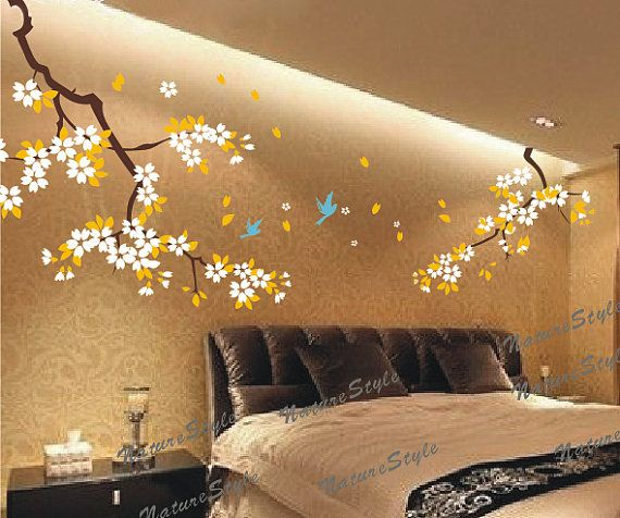 Best Wall Decals Images On Pinterest Nurseries Nursery Wall - Yellow flower wall decals