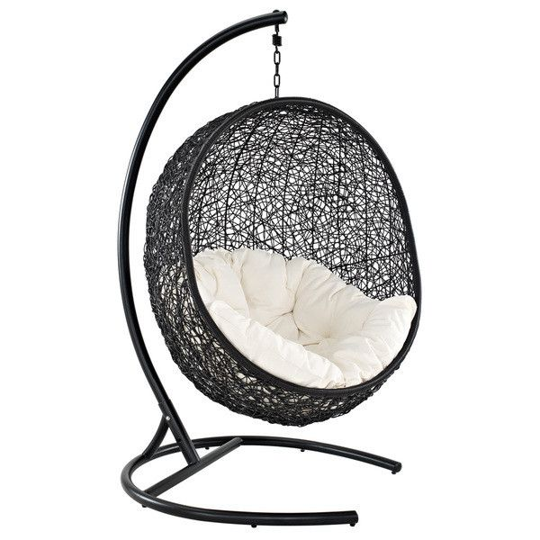 ideas patio furniture swing chair patio. encase rattan outdoor patio swing chair 666 liked on polyvore featuring home ideas furniture