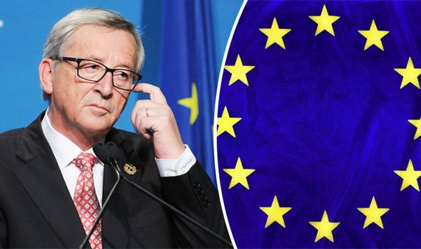 "BELEAGUERED European Commission President Jean-Claude Juncker has been described as ""depressed"" about the state of the EU as the migrant crisis continues to spiral out of control."