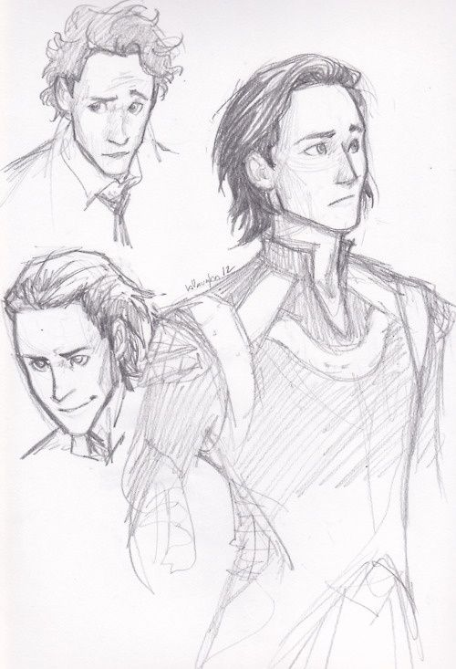 Burdge-Bug deviantart Loki I wonder how she gets each individuals character right! just by looking at them u know who they are