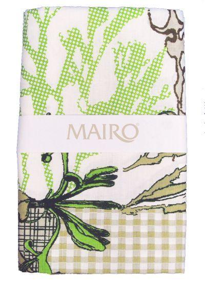 Mairo Myrten table cloth in green. Designed by Anna Backlund.