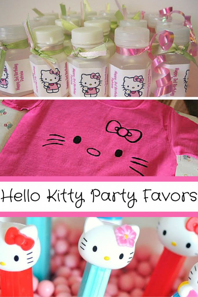 Find the best Hello Kitty party favor ideas here! If you or your child is celebrating their birthday party with a Hello Kitty party then you will want to check out these party favor ideas. Have a fun Hello Kitty party with some fun and unique party favor ideas!