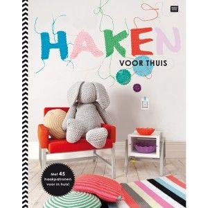 Haken voor thuis - rico haakboek - bestel op wolplein.nl