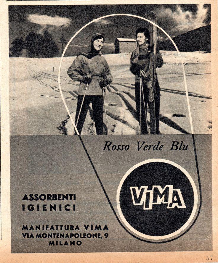 VIMA - Assorbenti igienici - cm 10x13 (Grazia 1953)