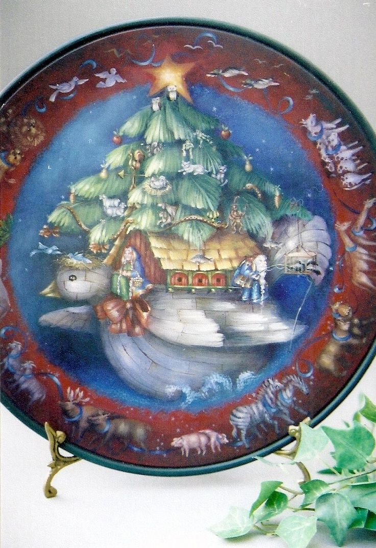 Artist Michele Walton Michele Walton Noah S Ark Plate